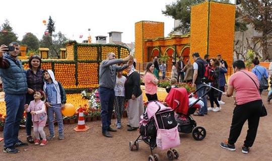 Antalya'da 'Portakal Çiçeği Günleri'