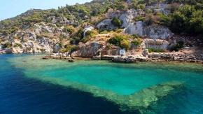 Antalya'da batık bir şehir: Kekova