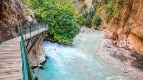 Gizli bir cennet: Saklıkent Kanyonu