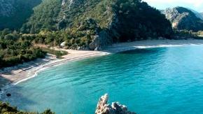 Antalya'nın bilinmeyen harikası: Alacasu Cennet Koyu