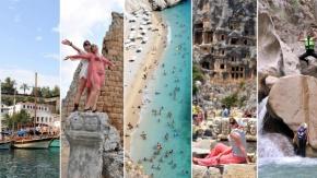 İşte Antalya'nın gidebileceğiniz en güzel rotaları