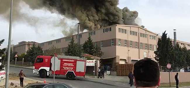 Tekstil fabrikasında patlama!