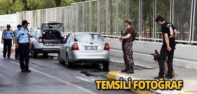 Antalya'da polis bile şaştı