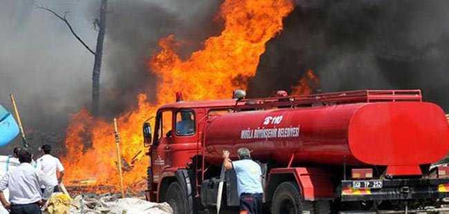 Turizm cennetinde yangın çıktı