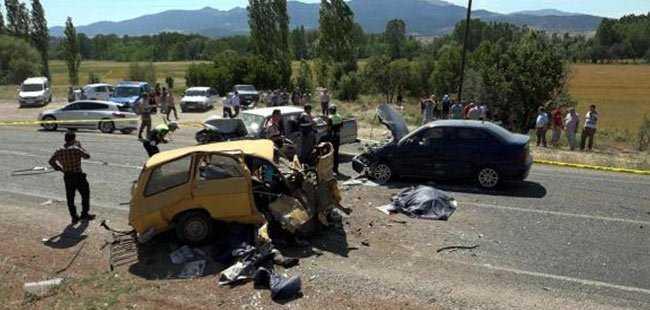 Muğla'da trafik kazası faciası