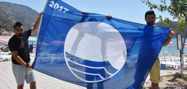 Kaş'a 10 mavi bayrak