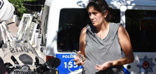 Antalya'da 8 aylık hamile kadına gasp şoku