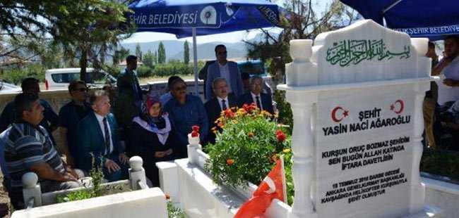 Antalya'da 15 Temmuz şehidi anıldı