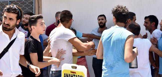 Antalya'da 'kapkaççıyı dövelim- dövmeyelim' kavgası