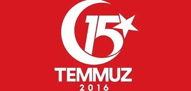15 Temmuz kutlamaları logosu