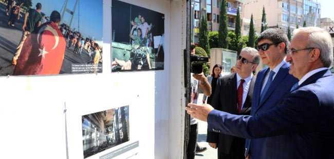 Antalya'da 15 Temmuz fotoğrafları sergisi