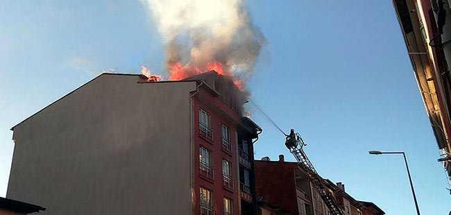 Isı yalıtımı apartmanı yaktı