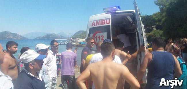 Antalya'da genç denizde boğuldu