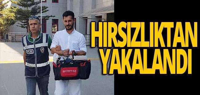 Antalya'da hırsızlıktan aranan zanlı yakalandı