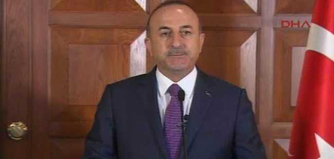 Bakan Çavuşoğlu'ndan sert çıkış