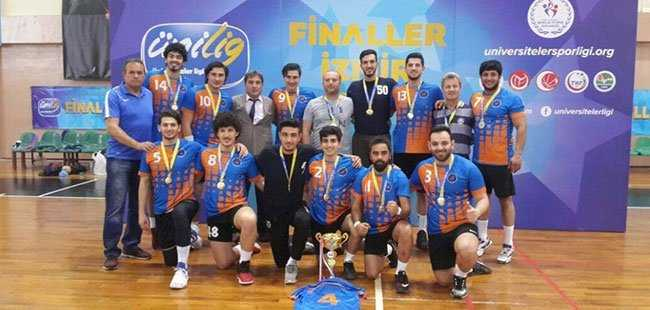 Şampiyon Akdeniz Üniversitesi