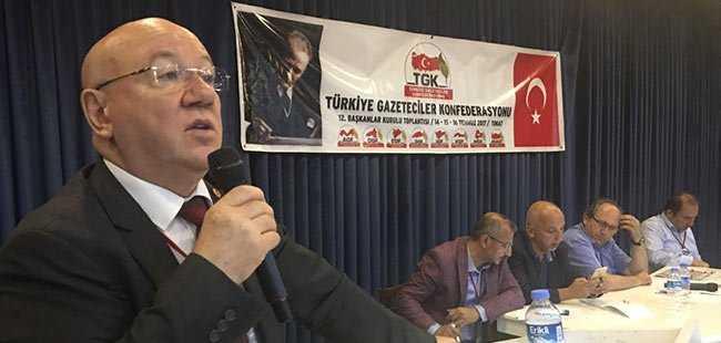 TGK 12. Başkanlar Kurulu Tokat'ta yapıldı