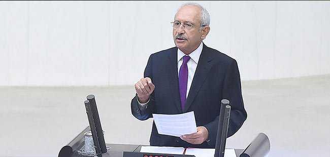Kılıçdaroğlu, 15 Temmuz özel oturumunda konuştu
