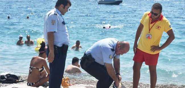 Polis denizde aradı, onlar yürüyüşte çıktı