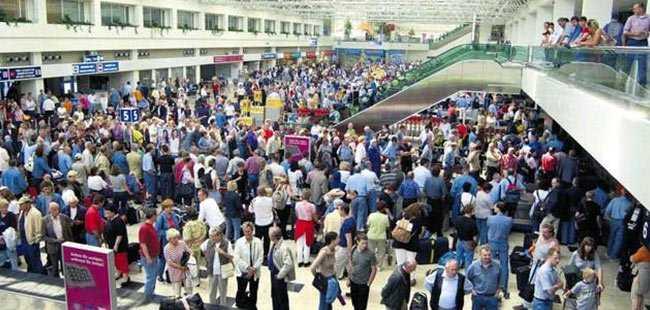 Antalya'ya 18 günde 1 milyon turist