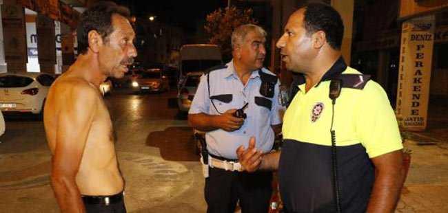 Polise tehdit