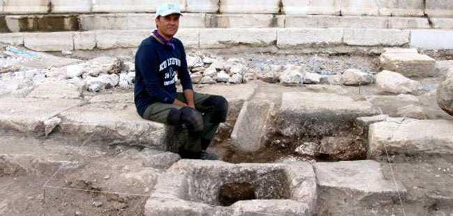 2 bin yıllık çeşme bulundu