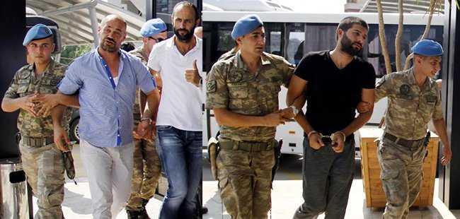 Antalya'da 13 kişi tutuklandı