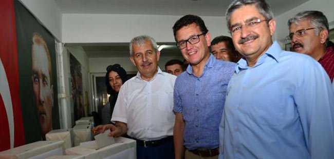 Kumluca'da delege seçimi yapıldı