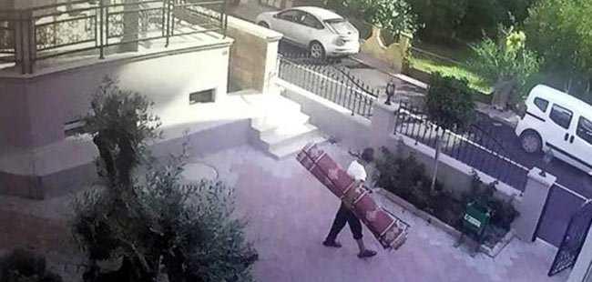 Antalya'daki hırsız herkesi şaşırttı