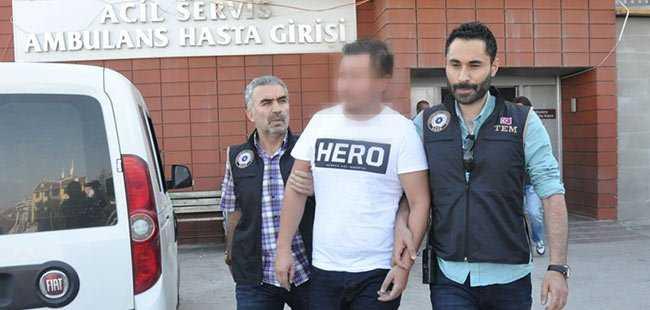 Hero tişörtlü genç daha gözaltına alındı
