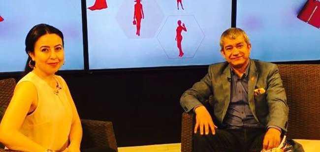 AGC Başkanı Yeni Kanal V'nin konuğu