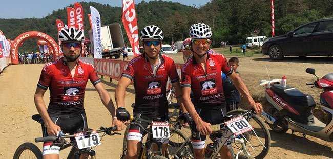 Antalyasporlu Bisikletçilerden büyük başarı