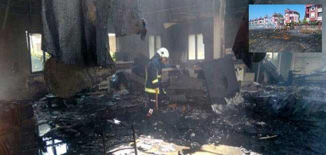 Antalya'da korkutan yangın! Kül oldular