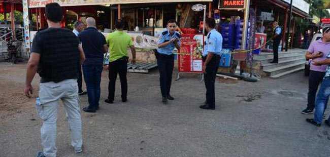 Antalya'da tartışması kanlı bitti