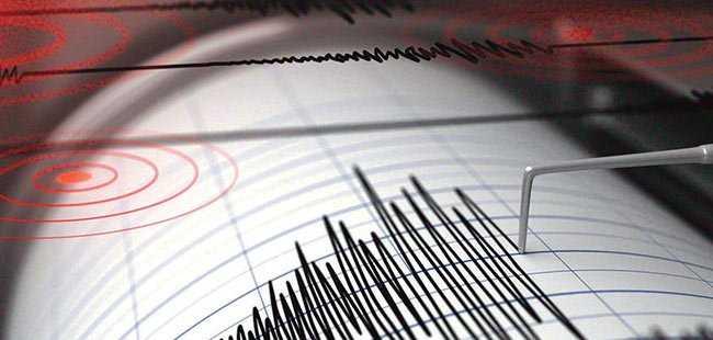 Şiddetli deprem oldu