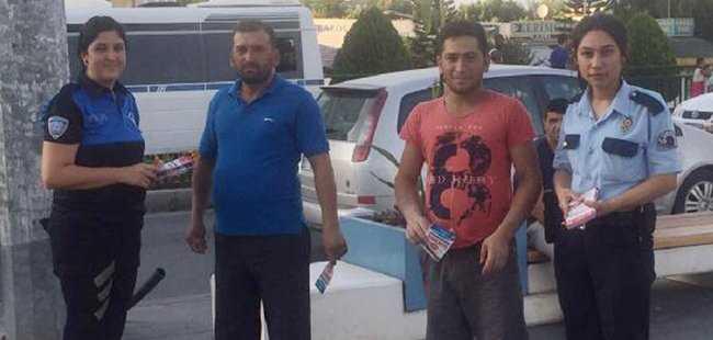 Antalya'da polisten önemli uyarı
