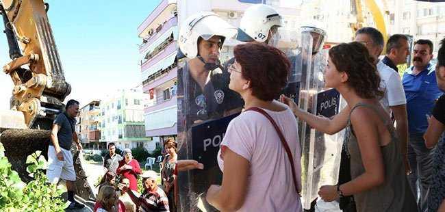 Antalya'da olaylı proje