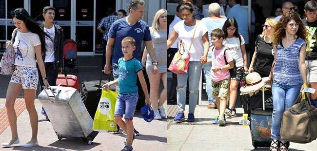 Gurbetçi turist arttı