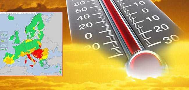 Sıcaktan 9 kişi hayatını kaybetti