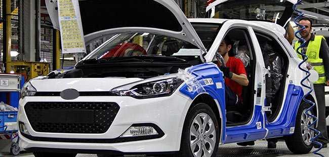 Otomotiv ihracatında büyük artış