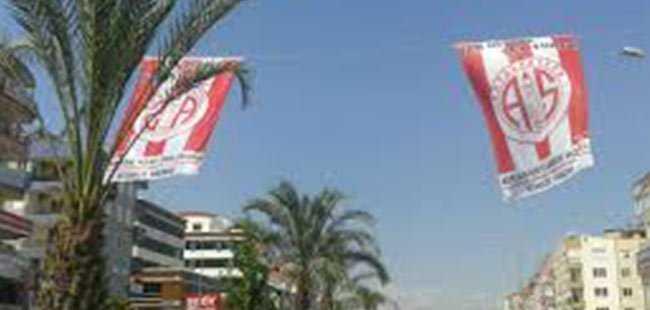 Antalyaspor'dan Bayrak Kampanyası