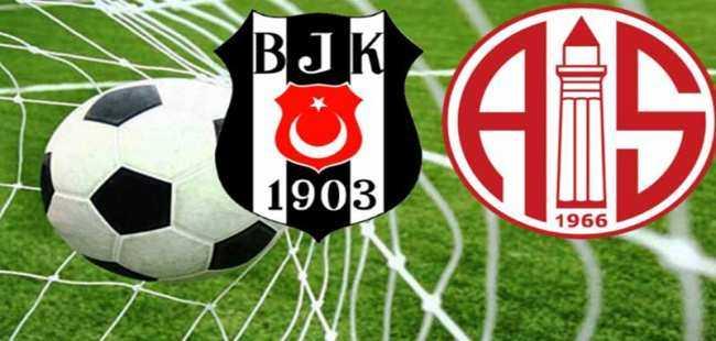Beşiktaş Antalyaspor maç sonucu