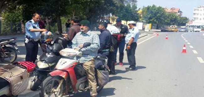Motosiklet sürücülerine ağır ceza
