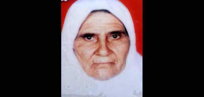Yaşlı kadın kalbine yenildi