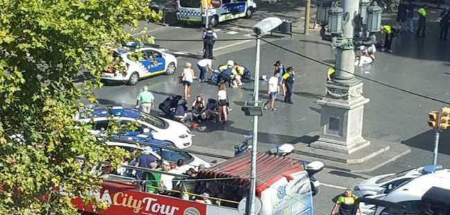 Barselona'da terör saldırısı