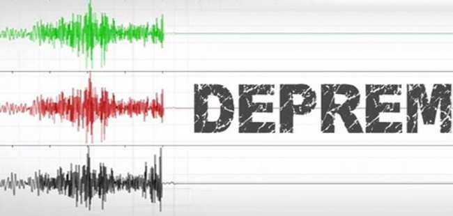 Bodrum'da üst üste depremler