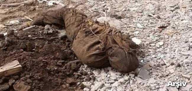 Terörist cesedi bulundu