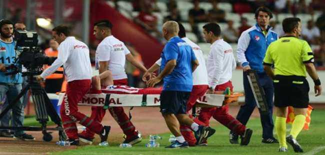 Antalyaspor'da Zeki Yıldırım şoku