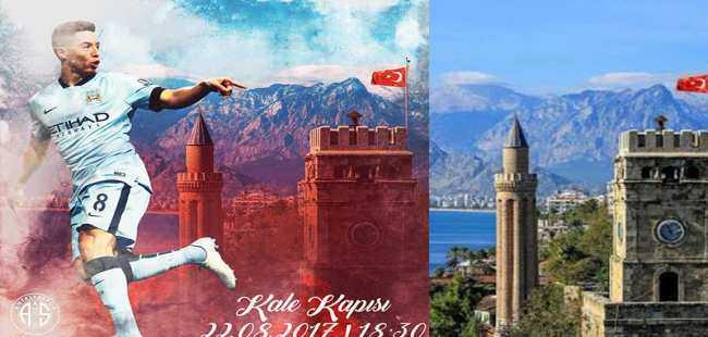 Dünya starına Antalya'ya nazır imza töreni