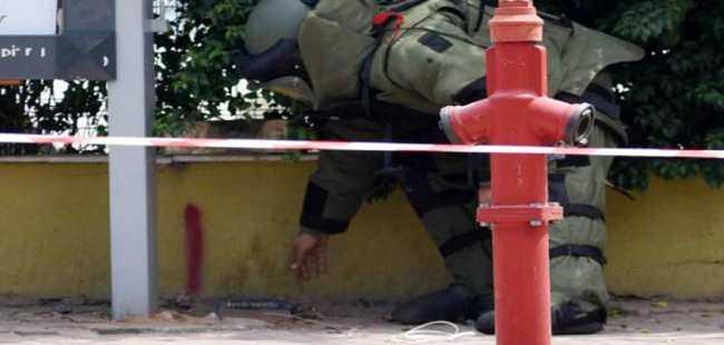 Antalya'da şüpheli paket alarmı